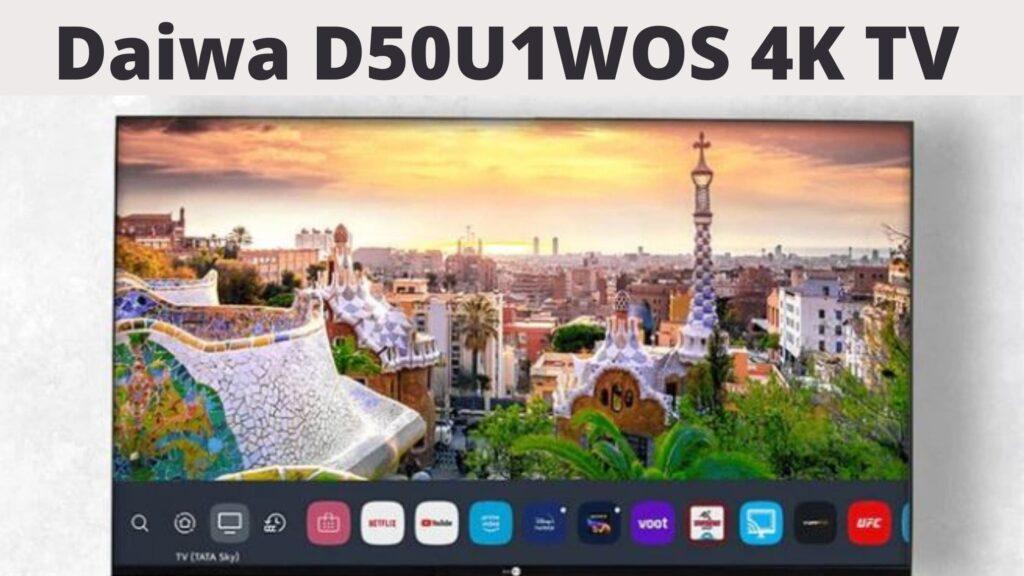Daiwa D50U1WOS 4K TV