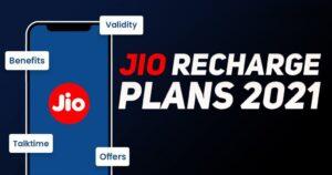 Jio's 5 Best Plans