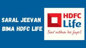 Saral Jeevan Bima HDFC Life